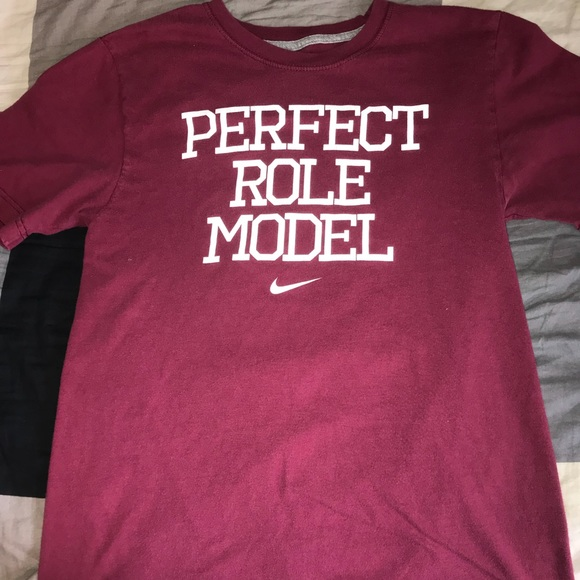 60cb7de0 Nike Shirts | Perfect Role Model Graphic Tee S Red | Poshmark